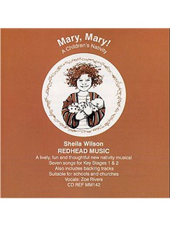 Sheila Wilson: Mary, Mary! (Backing CD) CDs | Piano, Voice