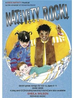 Sheila Wilson: Nativity Rock! (Music Book) Books | Piano, Vocal & Guitar