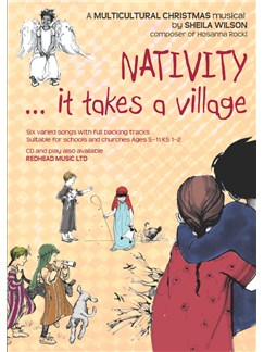 Sheila Wilson: Nativity... It Takes A Village (Music Book) Books | Piano, Vocal & Guitar