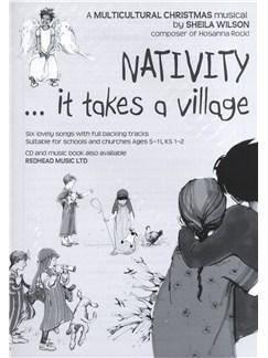 Sheila Wilson: Nativity... It Takes A Village (Wordbook) Books |