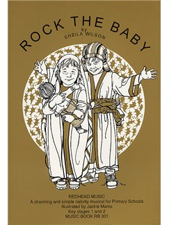 Rock The Baby Music Book Books | Piano and Voice, with Guitar chord symbols