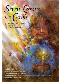 Sheila Wilson: 7 Lessons And Carols (Score) Books | Piano, Vocal & Guitar (with Chord Symbols)