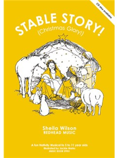 Sheila Wilson: Stable Story - Christmas Glory! (Music Book) Books | Piano and vocal with guitar chord symbols