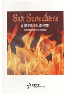 Nigel Wood: Sax Scorchers Books | Saxophone