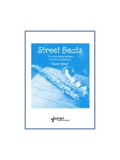 Karen Street: Street Beats Books | Alto Saxophone, Saxophone, Tenor Saxophone