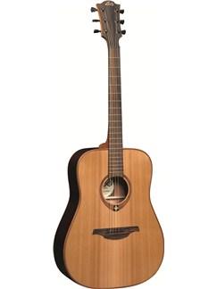 LAG: Tramontane T100D - Dreadnought Acoustic Guitar Instruments | Acoustic Guitar