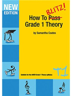 How to Blitz! Grade 1 Theory Books |