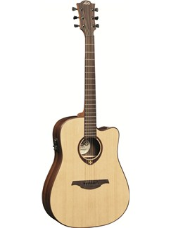 LAG: Tramontane T400DCE - Dreadnought Cutaway Electro Acoustic Guitar Instruments | Electro-Acoustic Guitar