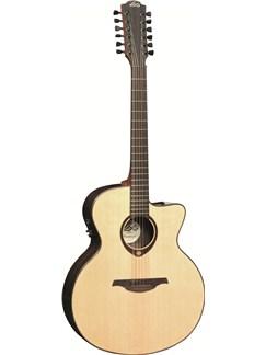 LAG: Tramontane T400J12CE - Jumbo 12-String Cutaway Electro Acoustic Guitar Instruments | Electro-Acoustic Guitar, 12-String Guitar