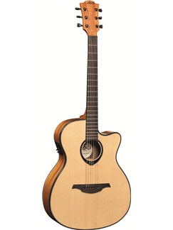 LAG: Tramontane T66ACE - Auditorium Cutaway Electro Acoustic Guitar Instruments | Electro-Acoustic Guitar