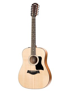Taylor: 150E 12 String Dreadnought Electro-Acoustic Guitar - Natural Instruments | Electro-Acoustic Guitar