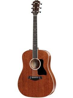 Taylor: 520E Dreadnought Electro-Acoustic Guitar - All Mahogany Instruments | Electro-Acoustic Guitar