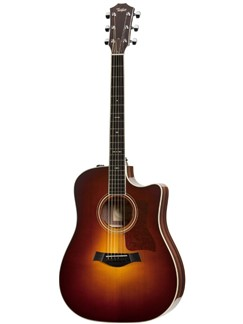 TAYLOR: 710E Dreadnought Rosewood/Englemann Spruce Electro-Acoustic Guitar - Sunburst Instruments | Electro-Acoustic Guitar