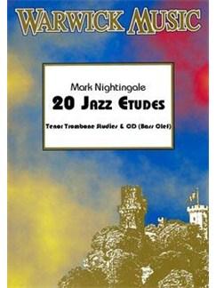 Mark Nightingale: 20 Jazz Etudes (Tenor Trombone) Books and CDs | Trombone