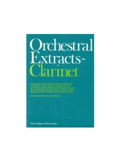 Trinity College London: Orchestral Extracts Books | Clarinet