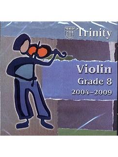 Trinity College London: Violin 2004-2009 Grade 8 CD CDs   Violin, Piano Accompaniment