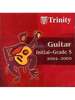 Trinity College London: Guitar Initial - Grade 5 (2004-2009) CD CDs | Guitar
