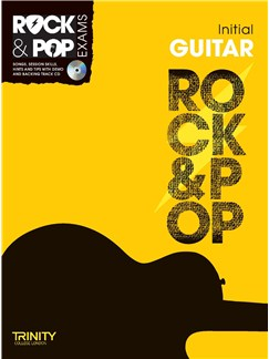Trinity College London: Rock & Pop Guitar - Initial Books and CDs | Guitar