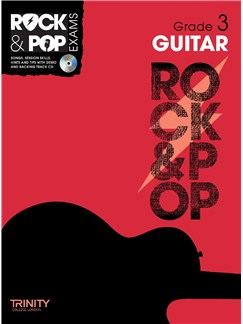 Trinity College London: Rock & Pop Guitar - Grade 3 Books and CDs | Guitar