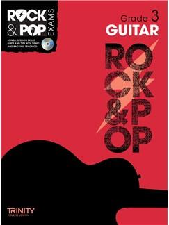 Trinity College London: Rock & Pop Guitar - Grade 3 Books and CDs | Guitar