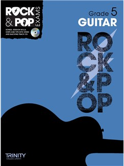 Trinity College London: Rock & Pop Guitar - Grade 5 Books and CDs | Guitar