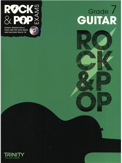 Trinity College London: Rock & Pop Guitar - Grade 7 Books and CDs | Guitar