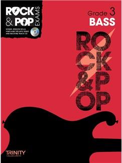 Trinity College London: Rock & Pop Bass Guitar - Grade 3 Books and CDs | Bass Guitar