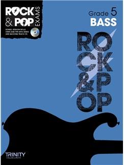 Trinity College London: Rock & Pop Bass Guitar - Grade 5 Books and CDs | Bass Guitar