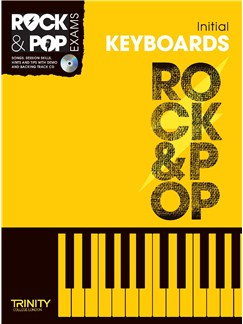 Trinity College London: Rock & Pop Keyboard - Initial Books and CDs | Keyboard