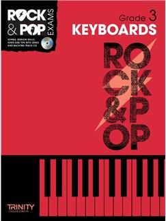 Trinity College London: Rock & Pop Keyboard - Grade 3 Books and CDs | Keyboard