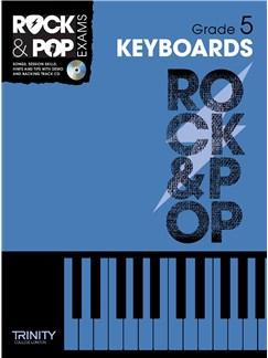 Trinity College London: Rock & Pop Keyboard - Grade 5 Books and CDs | Keyboard