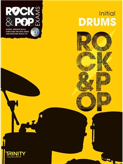 Trinity College London: Rock & Pop Drums - Initial Books and CDs | Drums