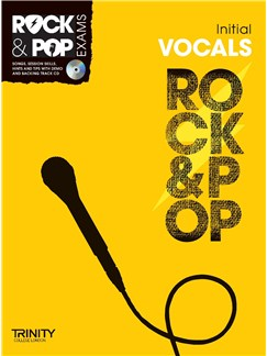 Trinity College London: Rock & Pop Voice - Initial Books and CDs | Voice