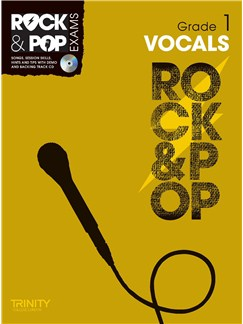 Trinity College London: Rock & Pop Voice - Grade 1 Books and CDs | Voice