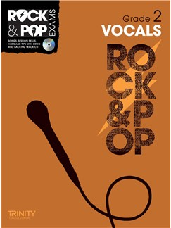 Trinity College London: Rock & Pop Voice - Grade 2 Books and CDs | Voice