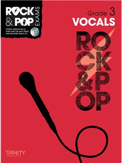Trinity College London: Rock & Pop Voice - Grade 3 Books and CDs | Voice
