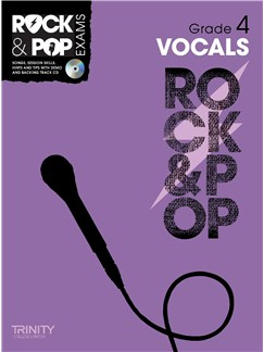 Trinity College London: Rock & Pop Voice - Grade 4 Books and CDs | Voice