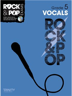 Trinity College London: Rock & Pop Voice - Grade 5 CD y Libro | Voz