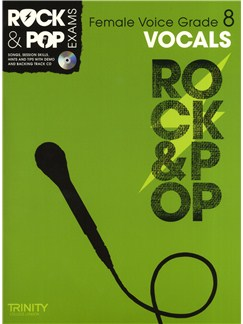 Trinity College London: Rock & Pop Female Voice - Grade 8 Books and CDs | High Voice