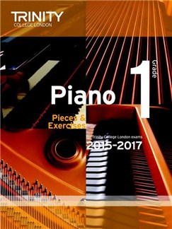 Trinity College London: Piano Exam Pieces & Exercises 2015-2017 - Grade 1 (Book Only) Books | Piano