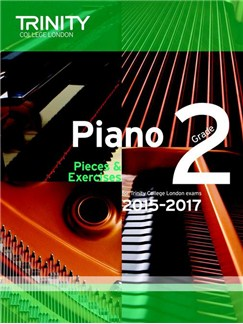 Trinity College London: Piano Exam Pieces & Exercises 2015-2017 - Grade 2 (Book Only) Books | Piano