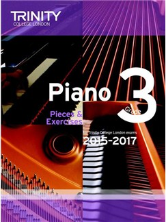 Trinity College London: Piano Exam Pieces & Exercises 2015-2017 - Grade 3 (Book Only) Books | Piano