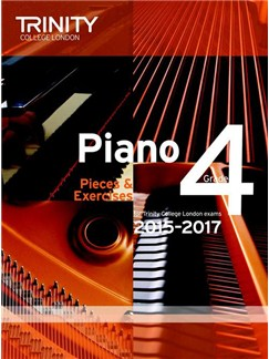 Trinity College London: Piano Exam Pieces & Exercises 2015-2017 - Grade 4 (Book Only) Books | Piano