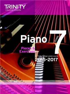 Trinity College London: Piano Exam Pieces & Exercises 2015-2017 - Grade 7 (Book Only) Books | Piano