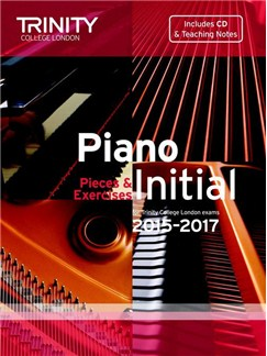 Trinity College London: Piano Exam Pieces & Exercises 2015-2017 - Initial (Book/CD) Books and CDs | Piano