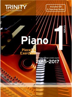 Trinity College London: Piano Exam Pieces & Exercises 2015-2017 - Grade 1 (Book/CD) Books and CDs | Piano