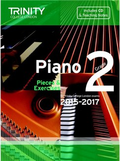 Trinity College London: Piano Exam Pieces & Exercises 2015-2017 - Grade 2 (Book/CD) Books and CDs | Piano