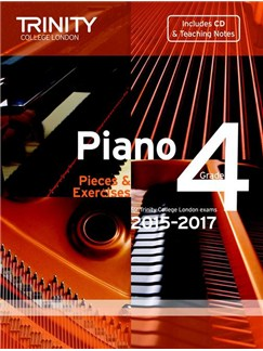 Trinity College London: Piano Exam Pieces & Exercises 2015-2017 - Grade 4 (Book/CD) Books and CDs | Piano