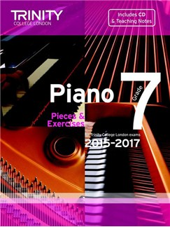 Trinity College London: Piano Exam Pieces & Exercises 2015-2017 - Grade 7 (Book/CD) Books and CDs | Piano