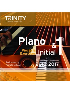 Trinity College London: Piano Exam Pieces 2015-17 (Initial/Grade 1) (CD) CDs | Piano